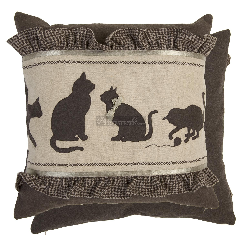 Poszewka dekoracyjna na poduszk clayre eef koty for Autrefois home decoration rideaux