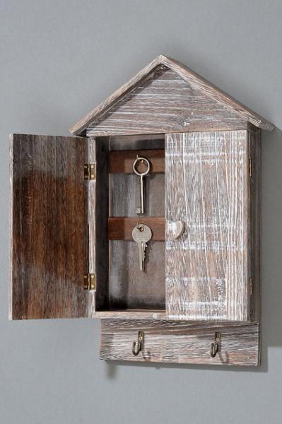Drewniana Szafka Na Klucze Wooden House Styl Rustykalny Sklep