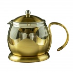 DZBANEK ZAPARZACZ DO HERBATY La Cafetiere GOLD BRUSHED - EDITED 0,66 l